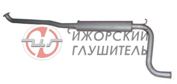 Глушитель дополнительный ВАЗ 1118,1117,1119 (без гофры) Арт.136131