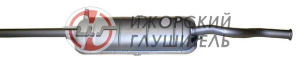 Глушитель основной ВАЗ 21099 (штампосварной — 1 кожух) Арт.135524