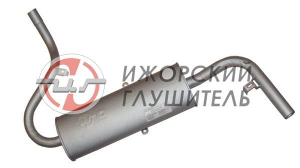 Глушитель основной ВАЗ 2121 (закатной) Арт.135867