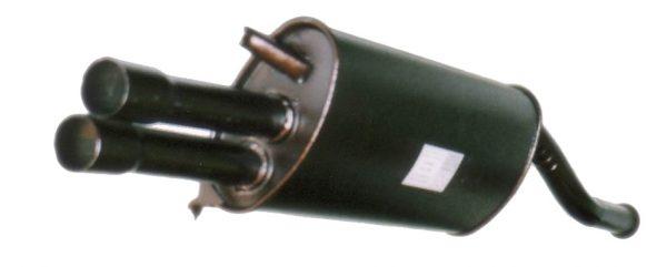 Глушитель основной ВАЗ 2108,2109 класс PREMIUM (2 вых. трубы) Арт.135918