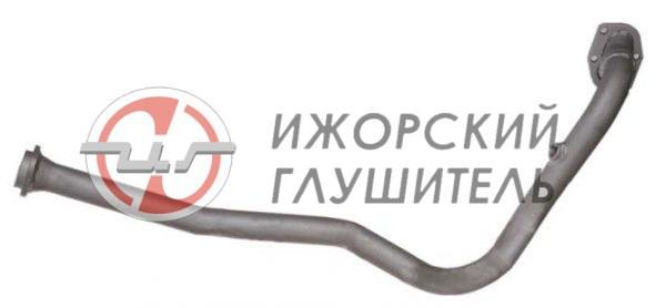Труба приемная ВАЗ 2123 (Chevrolet Niva) ЕВРО-2 нового образца с 2003г. с отв. под датчик Арт.136058