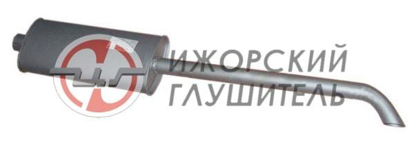 Глушитель МТЗ 80/82 (длинный) Арт.136074