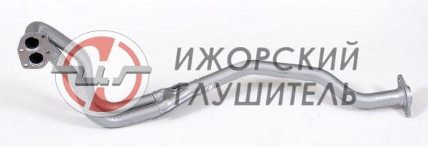 Труба приемная ВАЗ 2123 (Chevrolet Niva) ЕВРО-2 старого образца до 2003г. с отв. под датчик Арт.136089