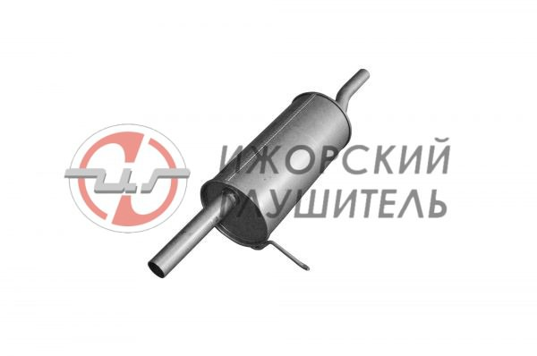 Глушитель основной Renault Logan Арт.136144