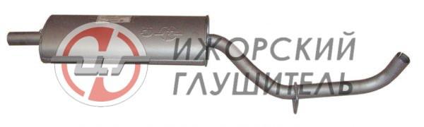 Глушитель основной ВИС 23452 карбюратор и ЕВРО-2 старого образца Арт.136157