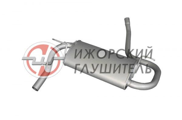 Глушитель основной Renault Duster (полный привод) Арт.136333