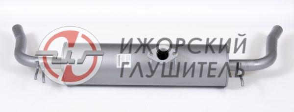 Глушитель основной Chery Tiggo (2 выхлопные трубы) Арт.136357
