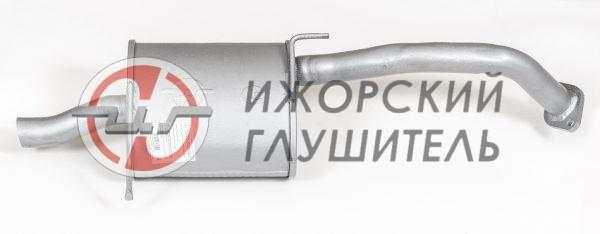 Глушитель основной Lifan Smily Арт.136364