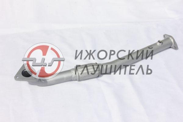 Труба приемная LIFAN X60 без катализатора, с отв. под датчик Арт.136372