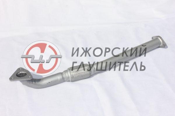 Туба приемная LIFAN X60 без катализатора, без отв. под датчик Арт.136373