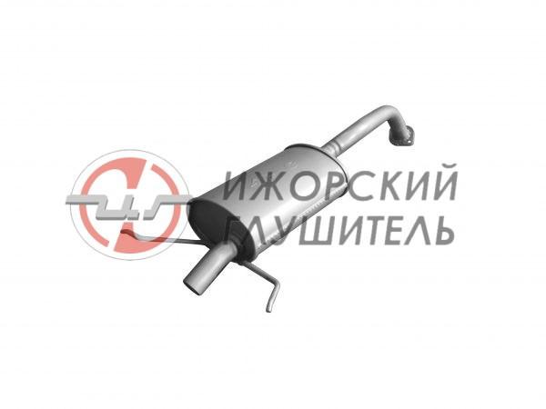 Глушитель основной Chevrolet Lacetti (хэтчбек) Арт.136394