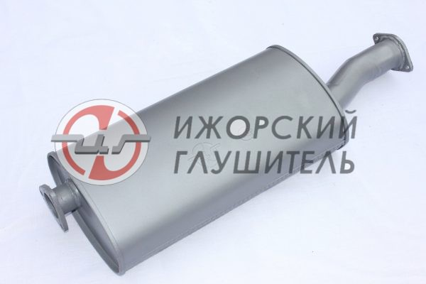 Глушитель основной УАЗ 3160,315195 (Hunter) (дв. ЗМЗ 409) фланцы 2/3 отв. Арт.136395