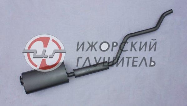 Глушитель с резонатором УАЗ 2206 (дв. ЗМЗ 409) Евро-4 Арт.136397