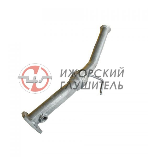 Труба приемная (соединительная) Lada Largus (дв. ВАЗ-11189,8кл.) Арт.136424