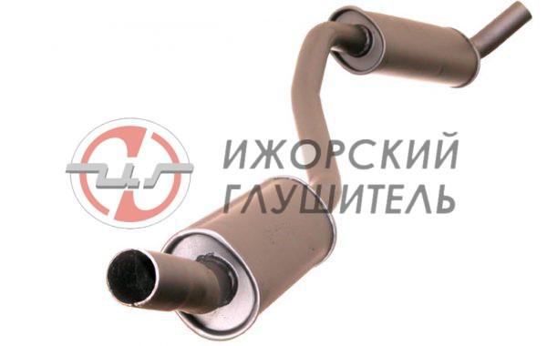 Глушитель дополнительный ВАЗ 2103 закатной Арт.135860