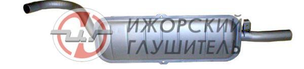 Глушитель основной ВАЗ 2106 штампосварной Арт.136511/136526