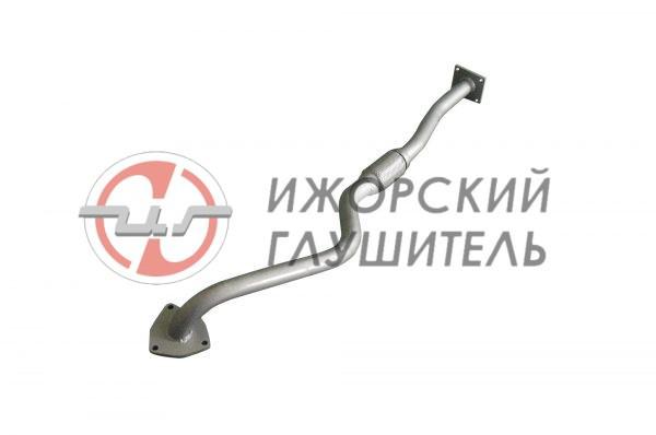 Труба приемная Daewoo Nexia Евро-3, с гофрой  Арт.136443