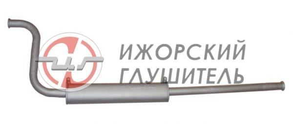Глушитель дополнительный(резонатор) ВАЗ 2108 (закатной) Арт.135843
