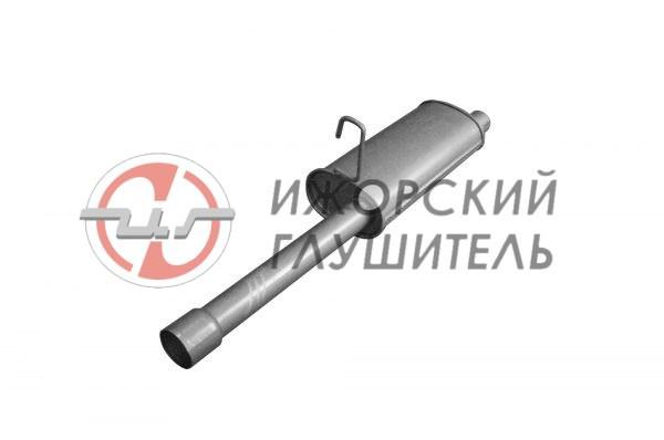 Глушитель дополнительный(резонатор) ГАЗ 3302 (дв.402) Арт.135897