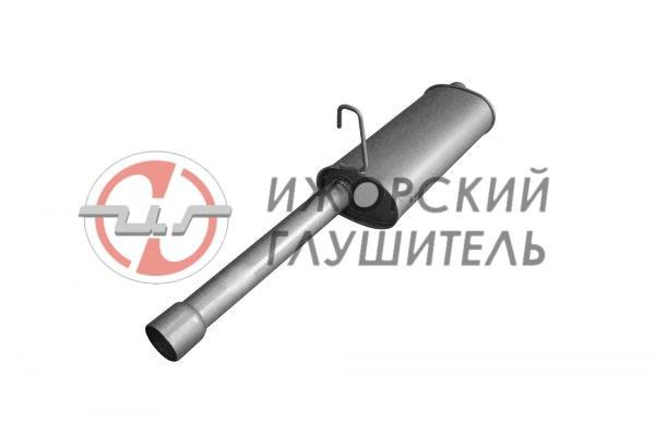 Глушитель дополнительный(резонатор) ГАЗ 3302 (дв.406) Арт.135929