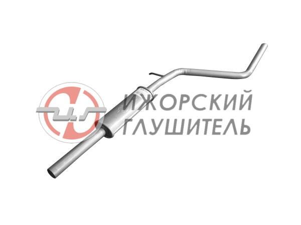 Глушитель дополнительный(резонатор) Renault Sandero / Stepway Арт.136448