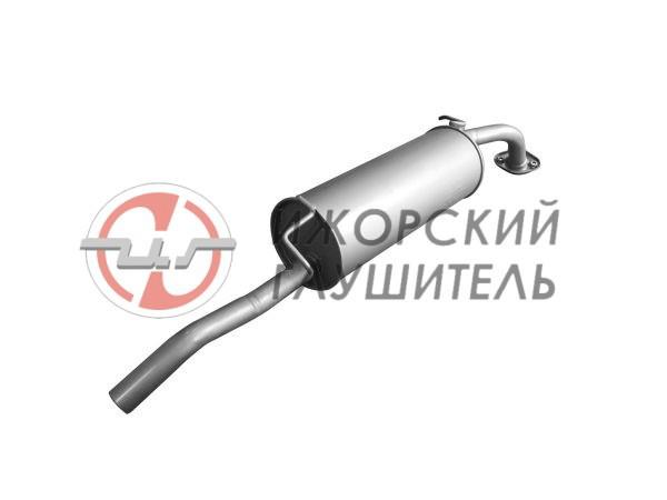 Глушитель основной Geely MK Арт.136460