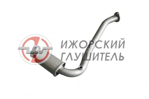 Труба приемная с заменителем нейтрализатора Geely MK Арт.136462