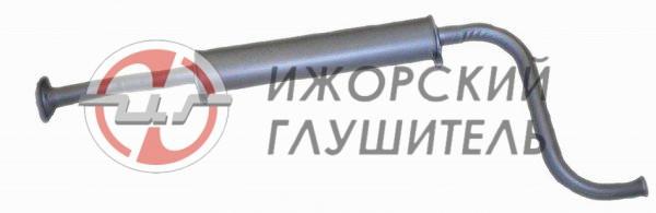 Глушитель дополнительный(резонатор) ВАЗ 21082 (короткий, для установки с нейтрализатором) Арт.135894